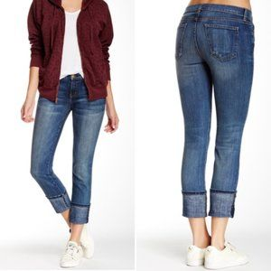 Current Elliott The Beatnik Cuffed Skinny Jeans 24